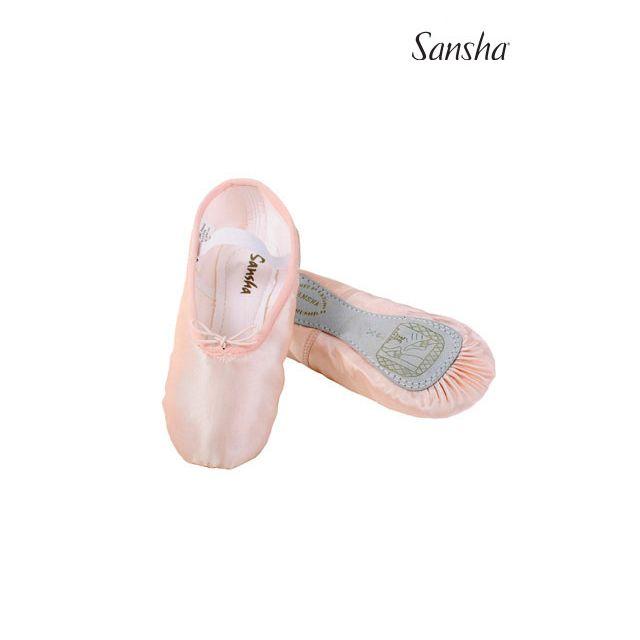 Sansha Детские балетки на сплошной подошве 14S STAR