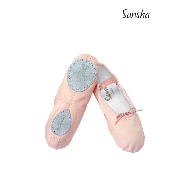 Sansha Детские балетки на раздельной подошве 5C TUTU-SPLIT