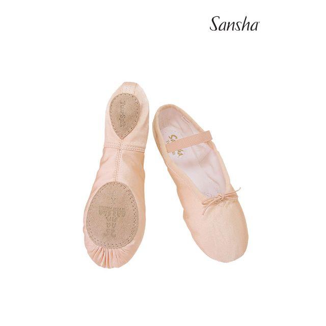 Sansha Детские балетки на раздельной подошве 5S TUTU-SPLIT