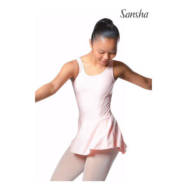 Sansha Купальник на широких бретелях совмещенный с юбкой ANIUTA E518M
