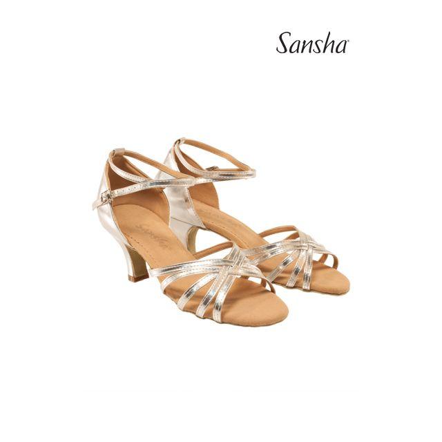 Sansha Туфли для Латины ALMA BR23017PU