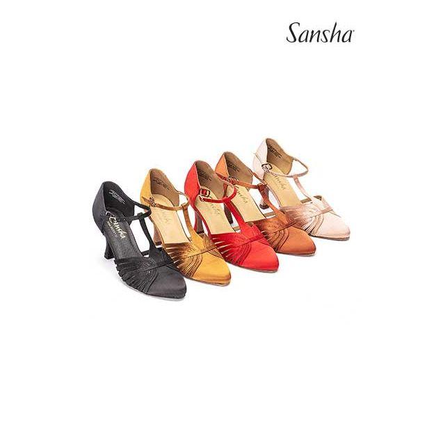 Sansha Туфли для Стандарта LUISA BR30013S