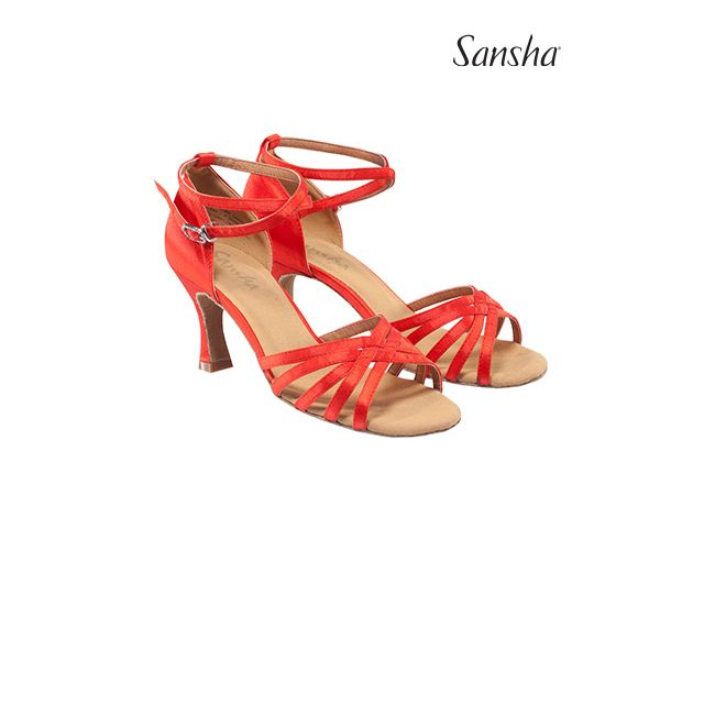 Sansha Обувь для латины с замшевой подошвой REGINA BR30034S