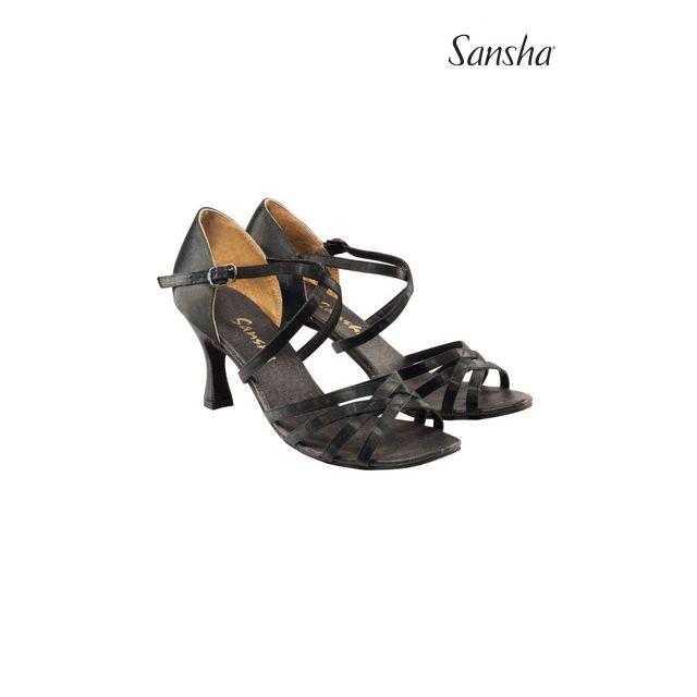 Sansha Туфли для Латины  ROSA BR31007S