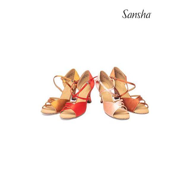 Sansha Обувь для латины с замшевой подошвой NINA BR31009S