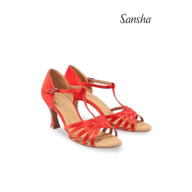 Sansha Туфли для Латины  JUANITA BR31028S