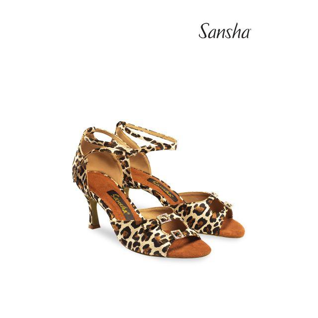 Sansha Обувь для латины с замшевой подошвой MILANA BR30033S