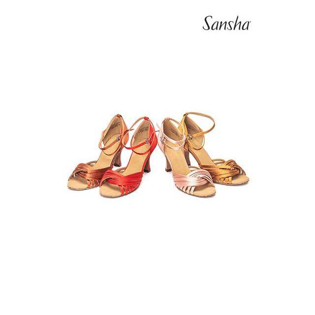 Sansha Обувь для латины с замшевой подошвой ASHLEY BR31065S