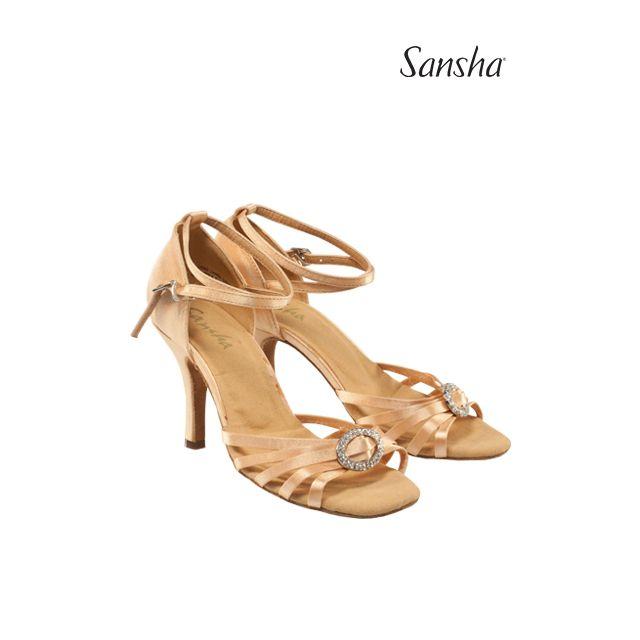 Sansha Обувь для латины с замшевой подошвой DOLORES BR33051S