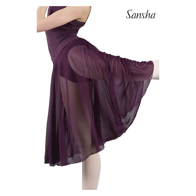 Sansha Миди юбка из сетки MISTI 1 D0917MS