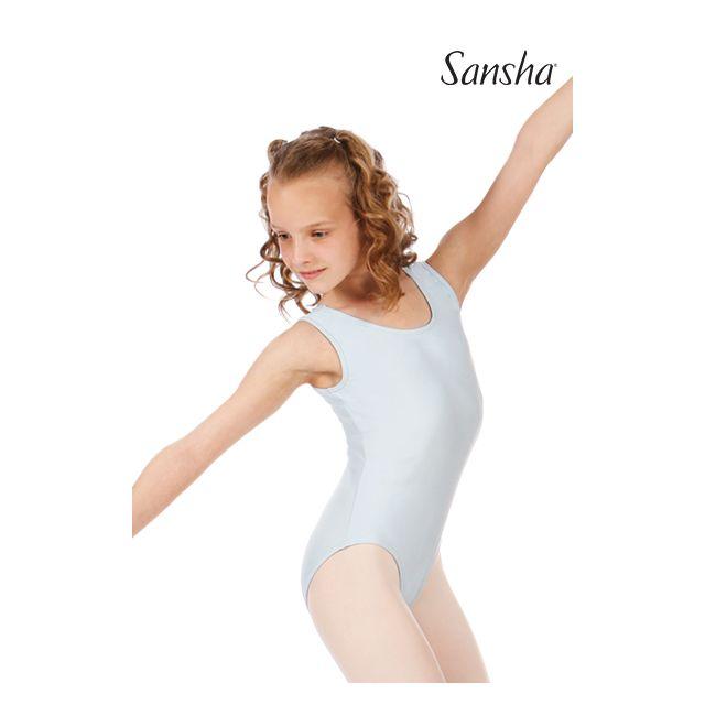 Sansha Купальник для девочек на широких лямках с юбкой E206M MANAO