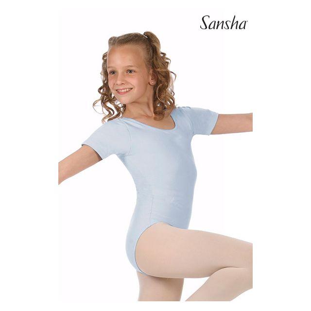 Sansha Купальник с короткими рукавами MAGGY E255C