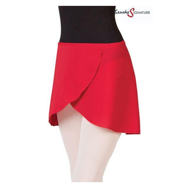 Sansha Signature Короткая юбка на запах L0751P SKYE