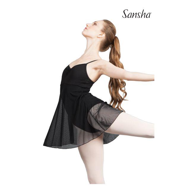 Sansha Платье на купальнике с узкими лямками L1710P COULISSE