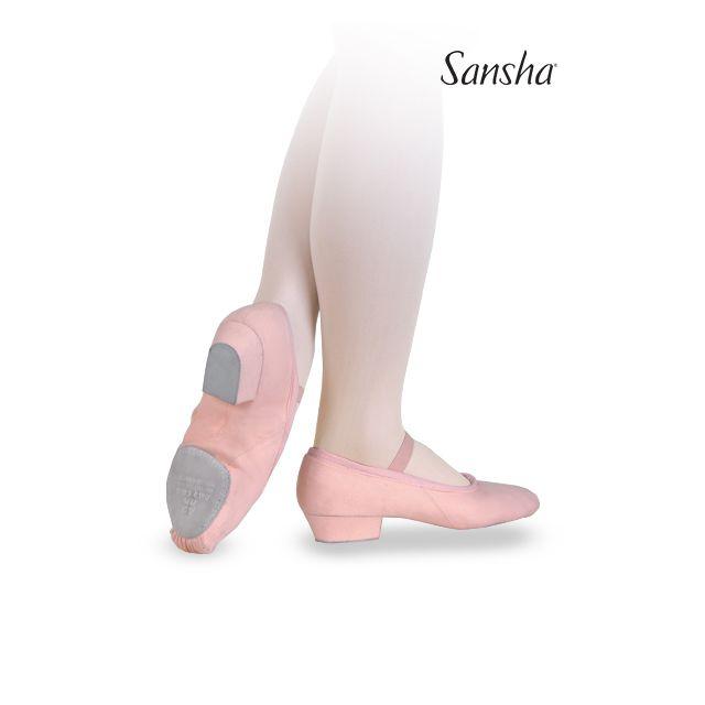 Sansha Педагогические туфли на резинке на раздельной подошве TE5C PRIMA