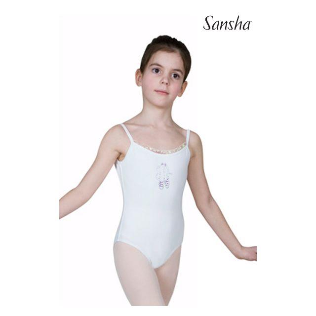 Sansha Купальник на узких лямках для девочек  Y1502C EMILY