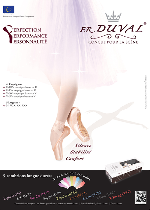 F.R.DUVAL Pointe shoes